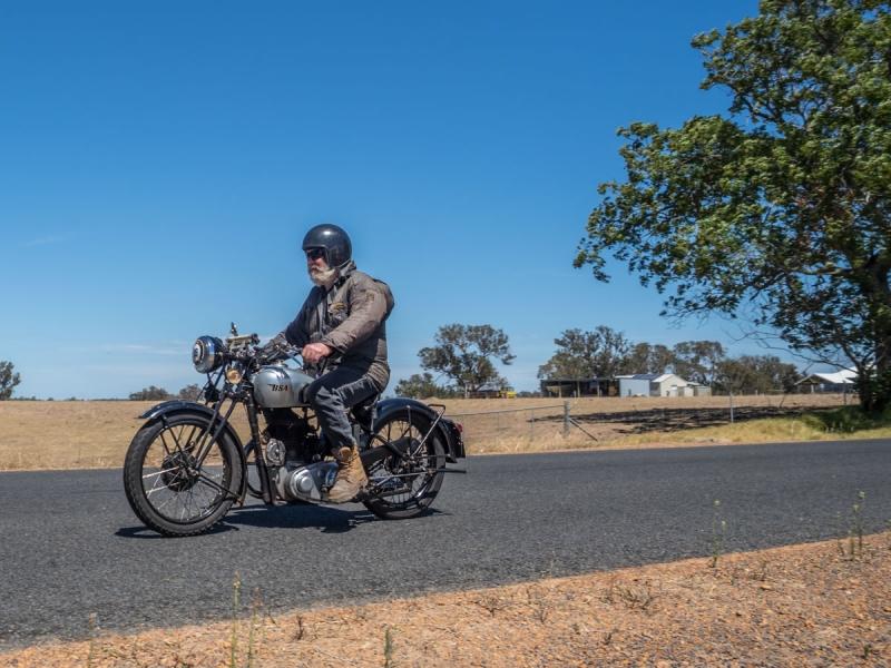 Vintage Motorcycle - Before