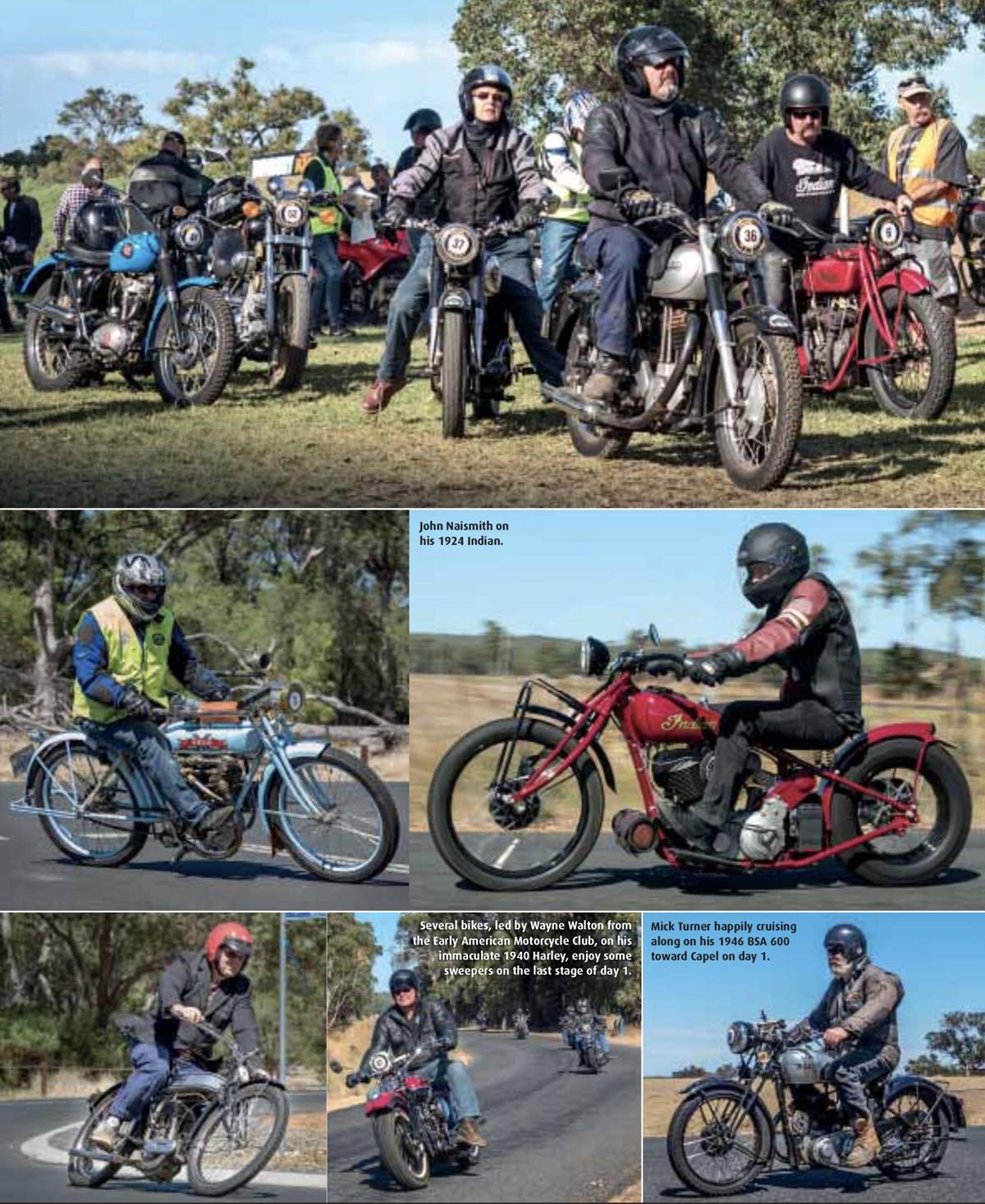 Full House at Bunbury - Old Bike Australasia