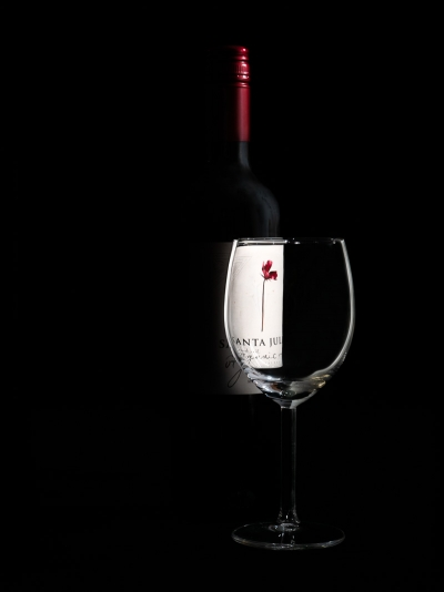 Still life product image of red wine by Mondo Photography of Perth