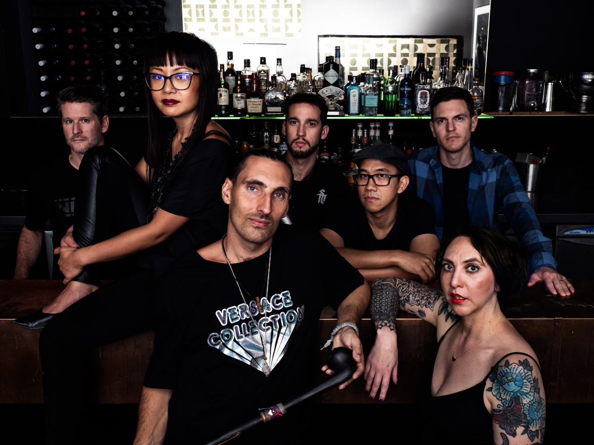 Freqshow Band portrait
