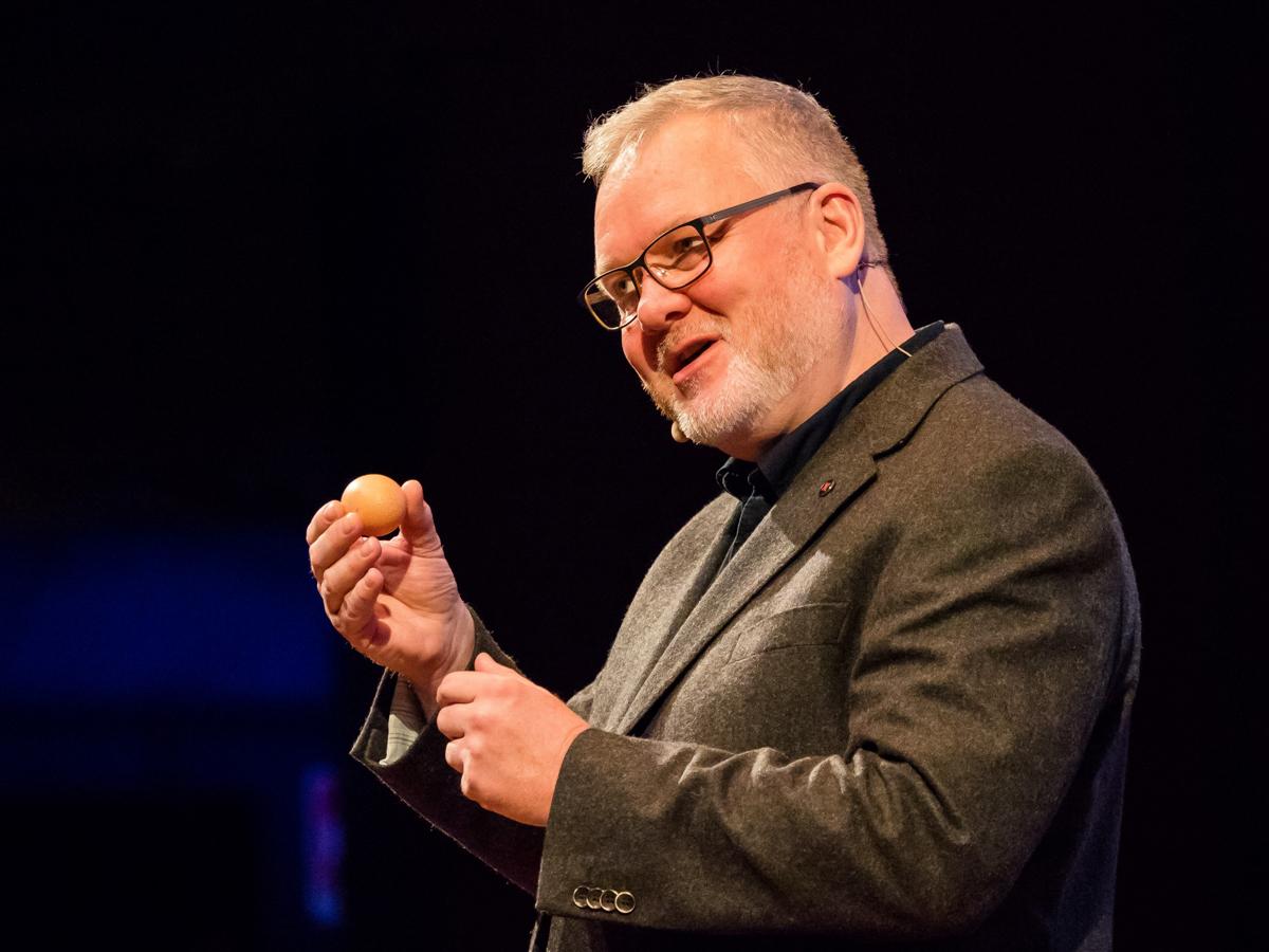 Gavin Buckley at TEDx
