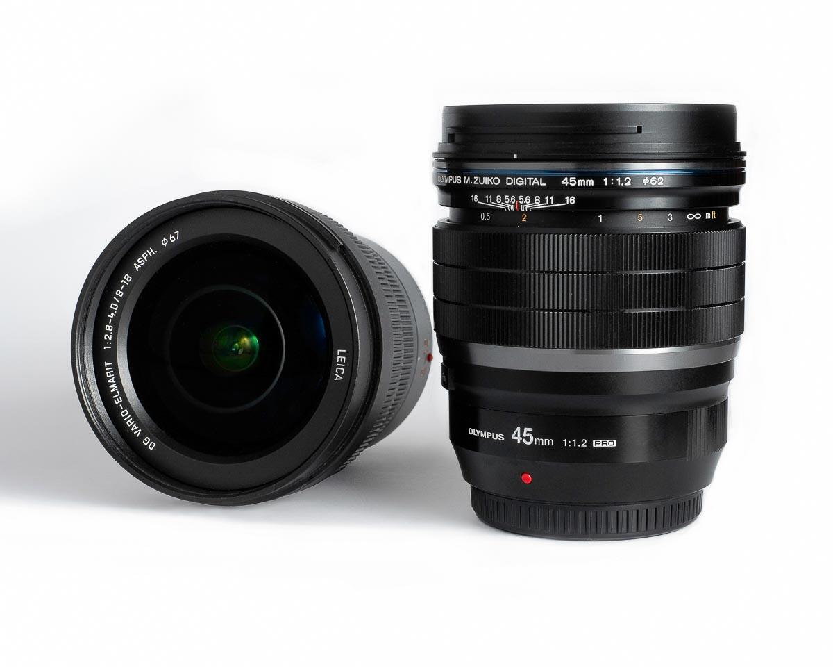 Micro 4/3 camera lenses