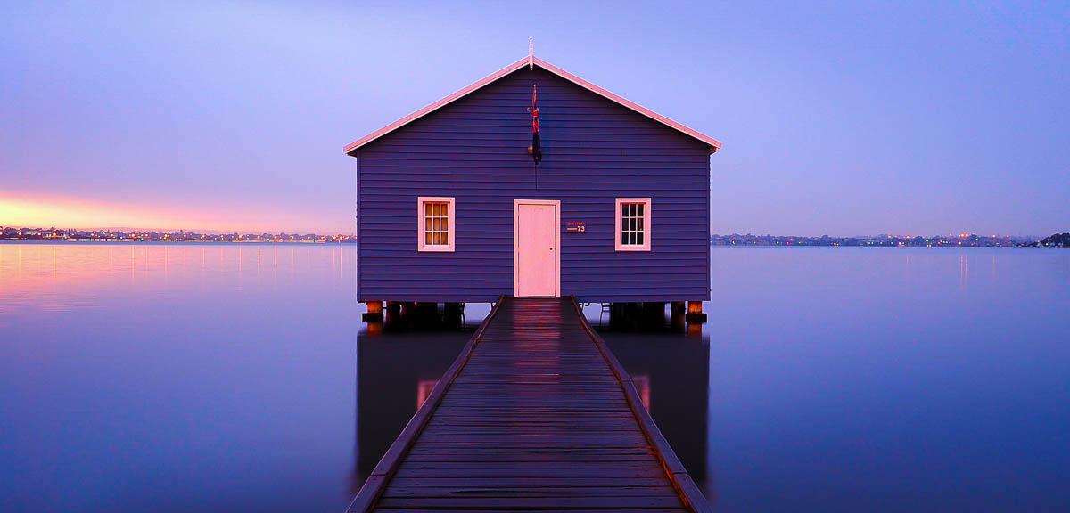 Blue Boat Shed Crawley Perth