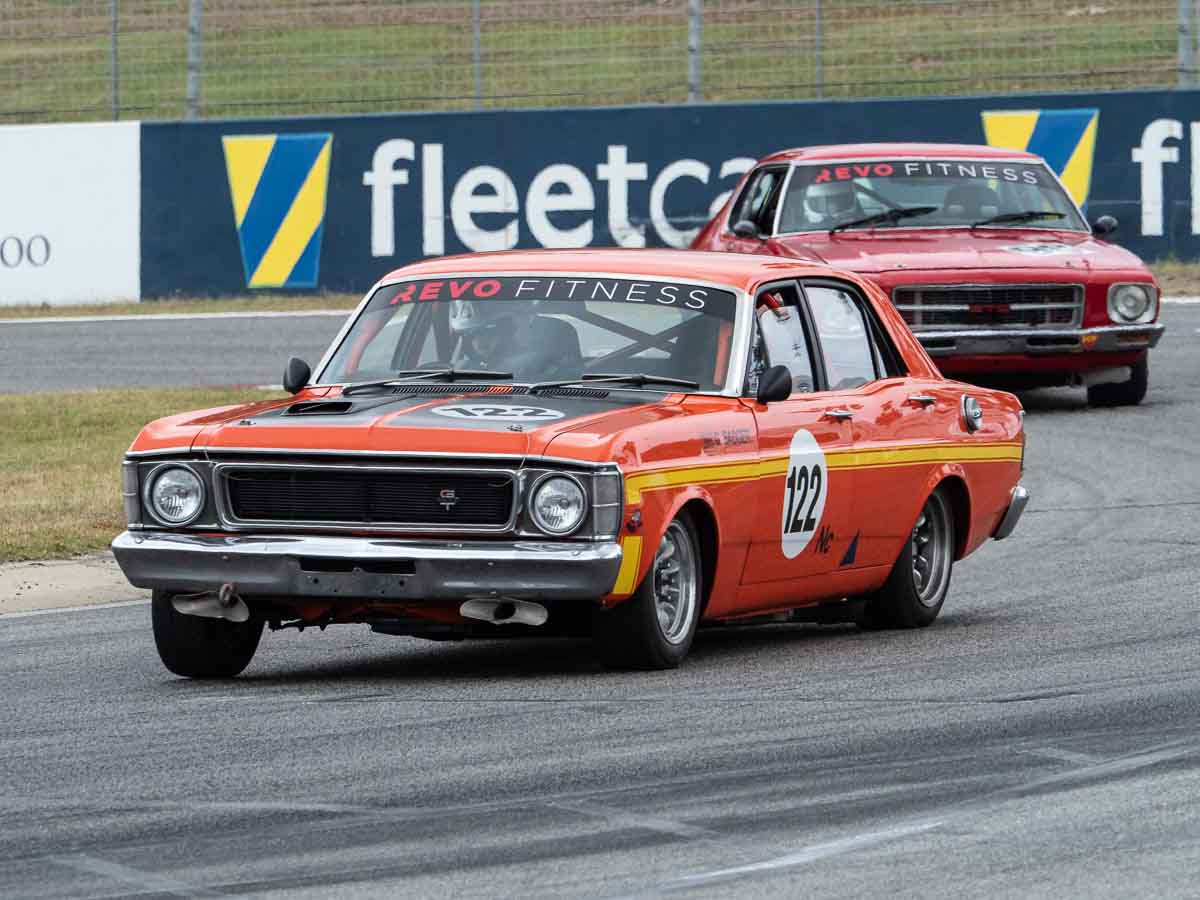 Falcon and Monaro Racing