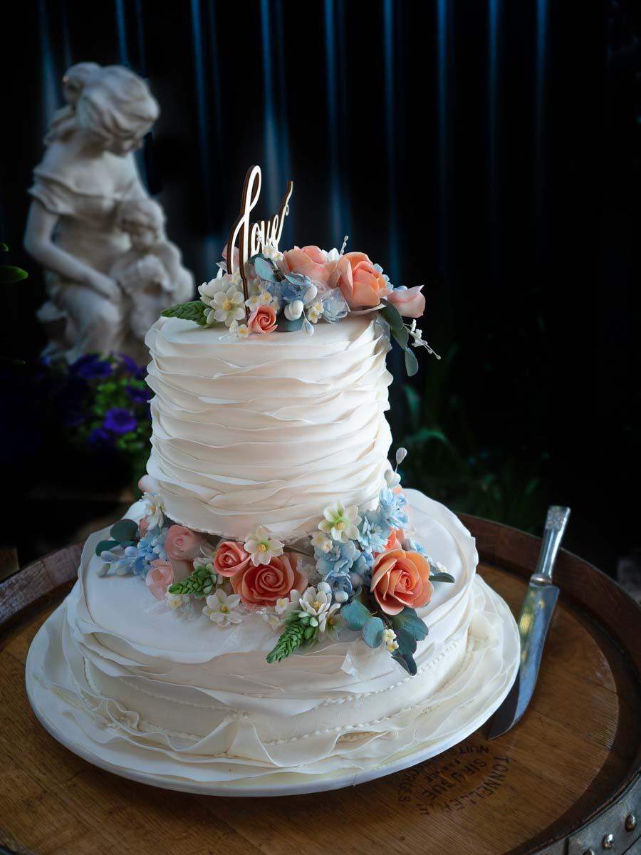 Smith Kim Wedding Cake