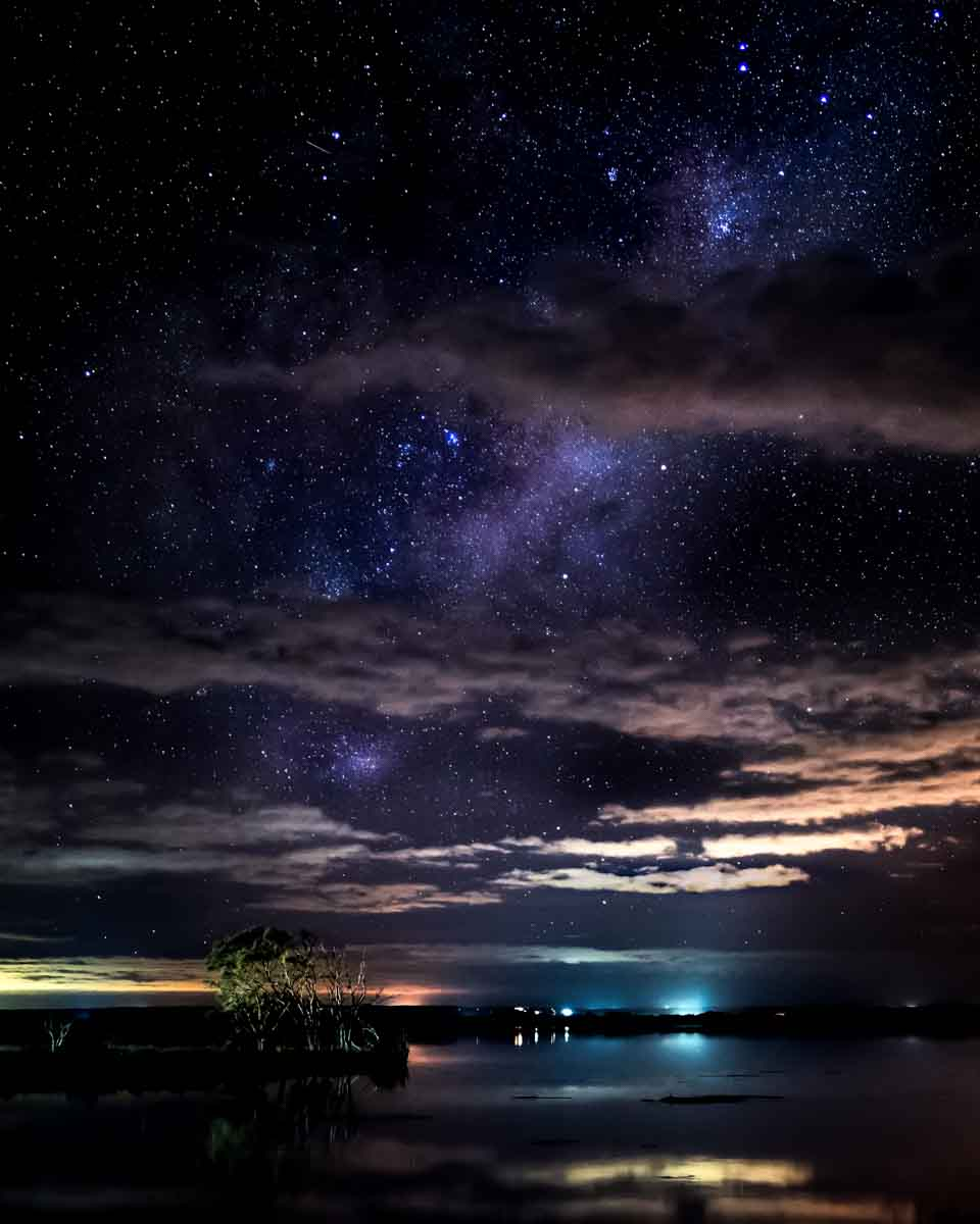 Milky Way from Island Point