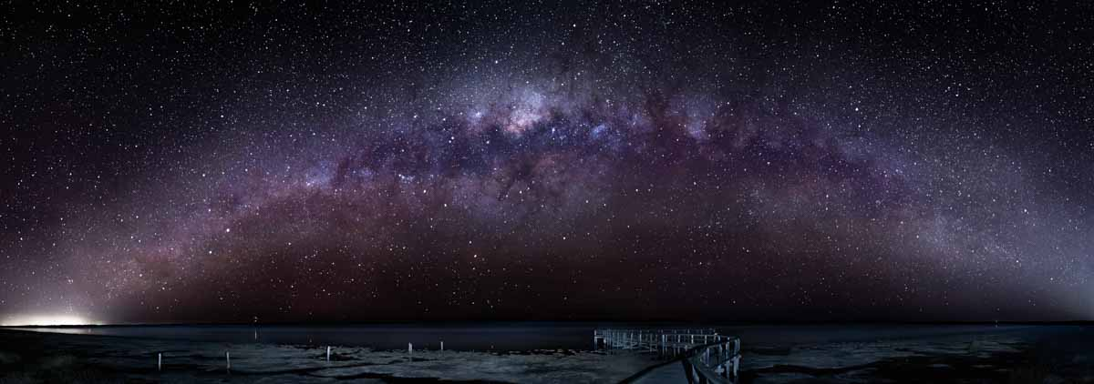 Milky Way from Lake Clifton Thrombolites