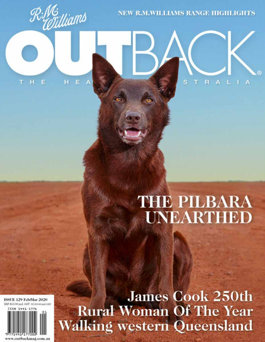 RM Williams Outback Magazine Perkolilli article