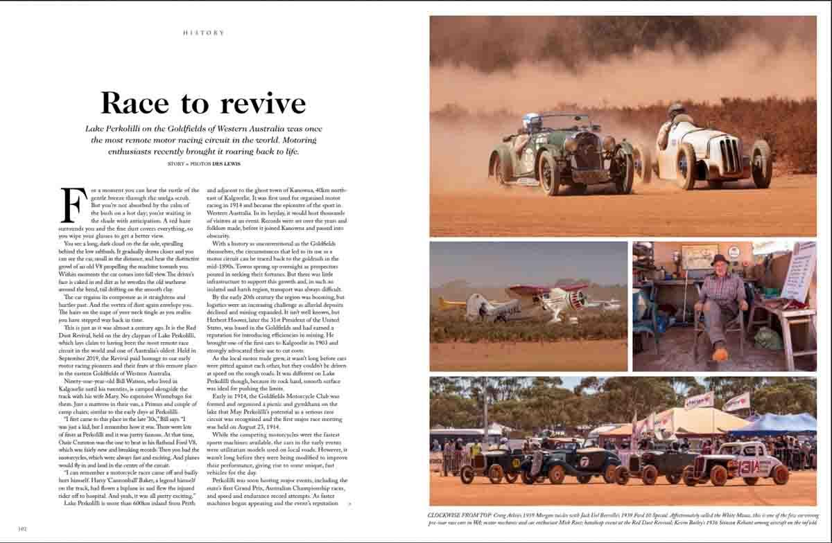 RM Williams Outback Magazine Perkolilli article